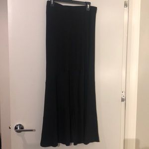 Chico's long knit maxi skirt